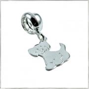 Berloque cachorrinho - Prata 925