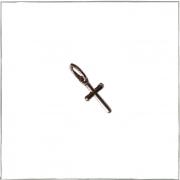 Pingente crucifixo mini - Prata 925