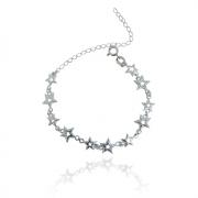 Pulseira Estrelas Prata 925
