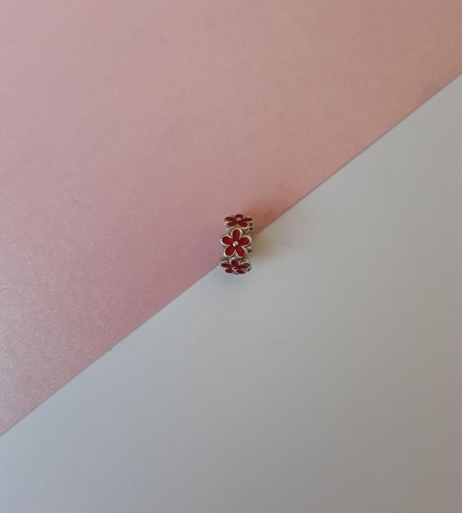 Berloque Mini Margarida - Prata 925