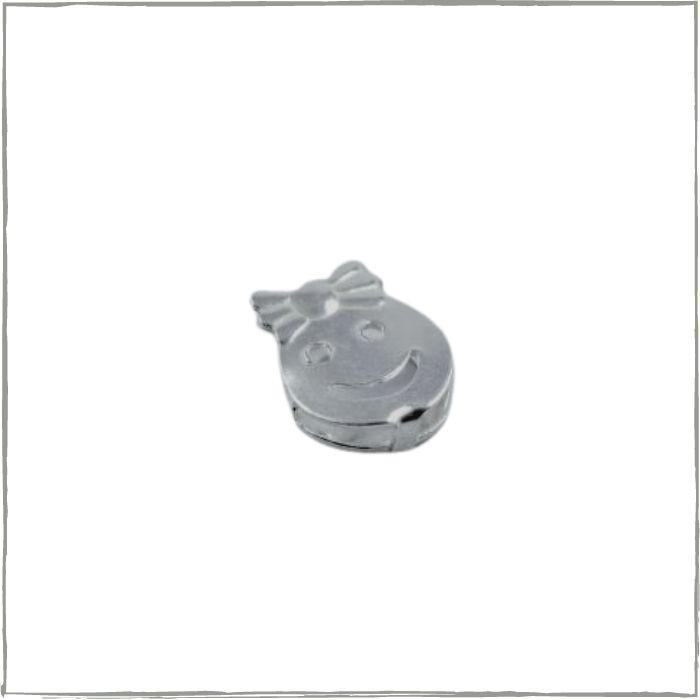 Pingente rostinho menina - Prata 925