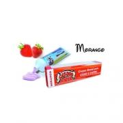 Creme Dental Sabor Morango 90gr.