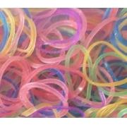 Elástico colorido para pet c/200und.