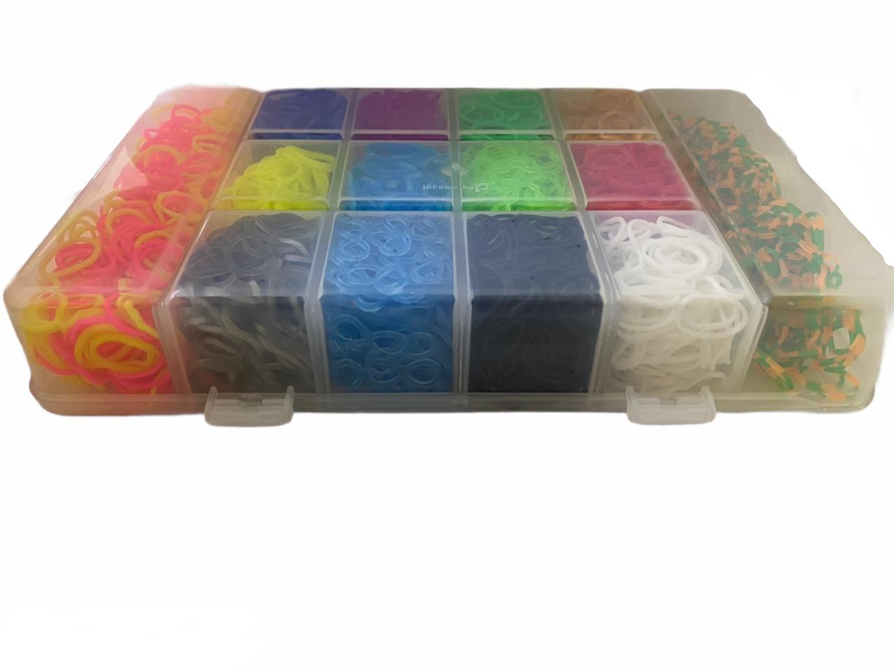 Caixa de Elástico Grande - 3.600unidades