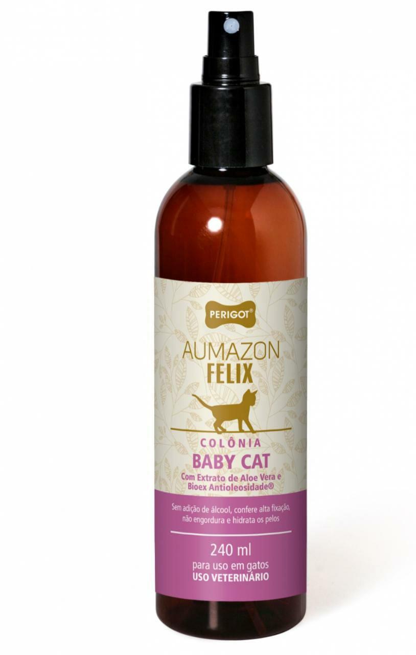 Colônia  Baby Cat Aumazon F elix 240 ml