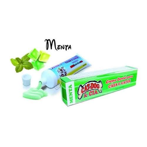 Creme Dental Sabor Menta 90g.