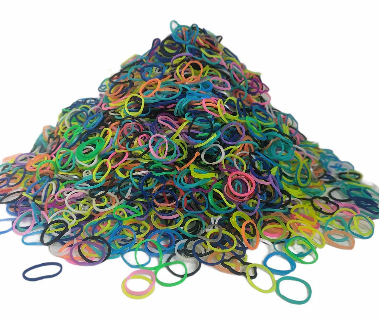 Elástico Látex Colorido c/ 2400 unidades