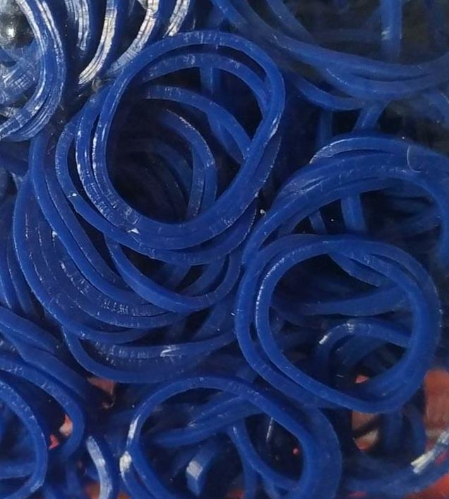 Elástico para pet Azul escuro c/200und