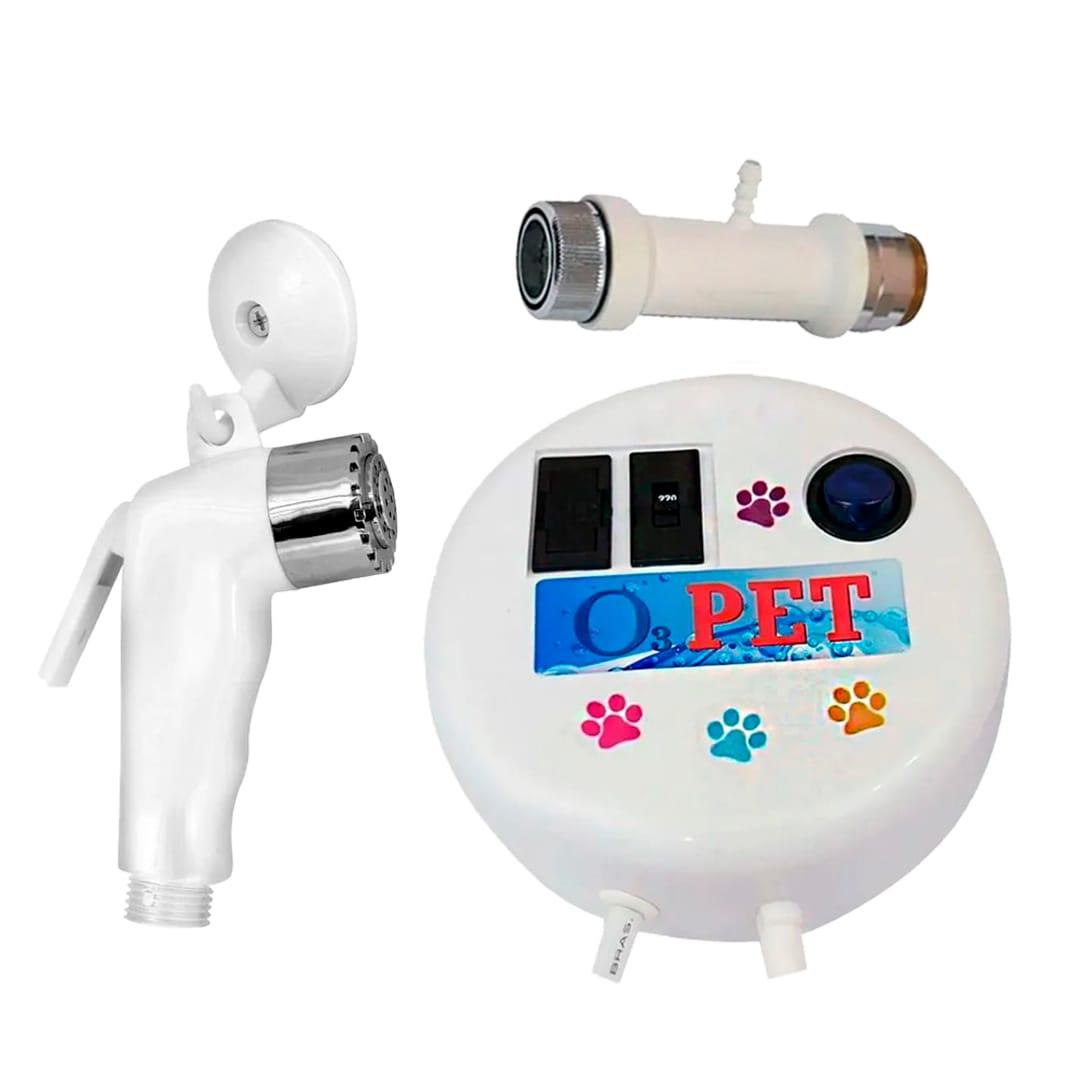 Gerador De Ozônio Para Animais O3 Pet Bivolt + Gatilho