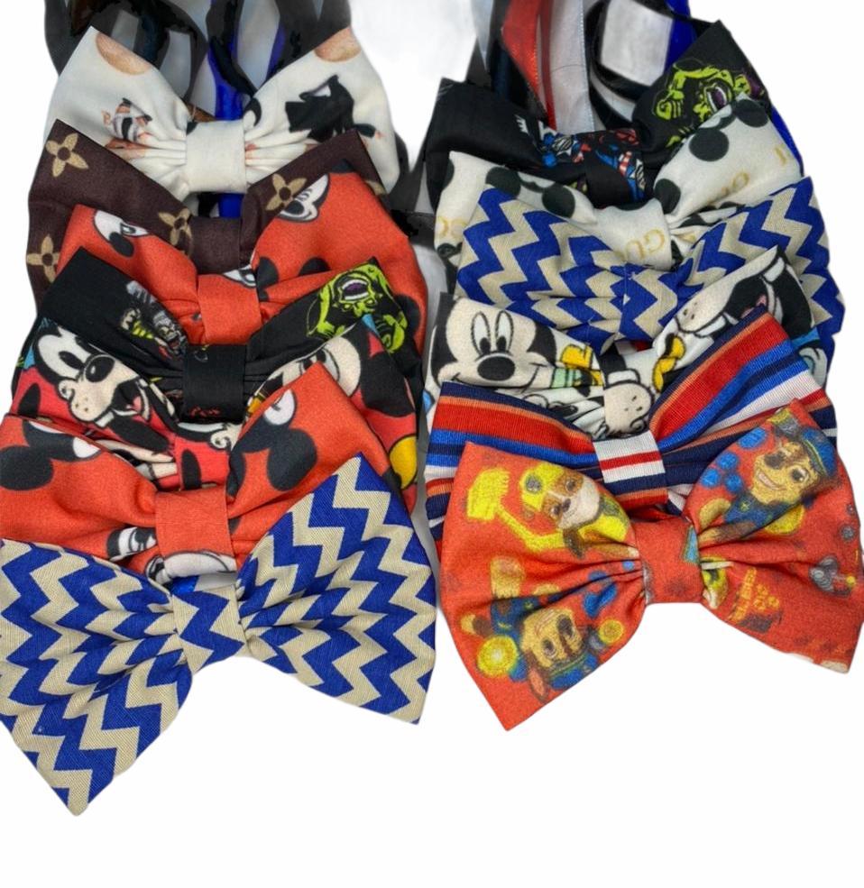 gravata borboleta grande - 10 unidades