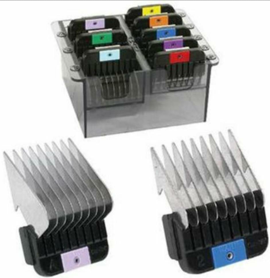 kit Adaptador aço inox Wahl-8 Peças