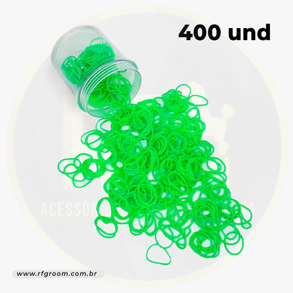 Pote Com 400 Elásticos - Diversas Cores