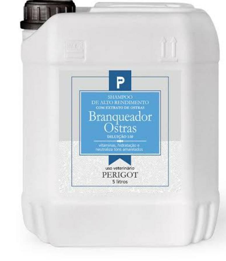 Shampoo Branqueador Ostras 5 L