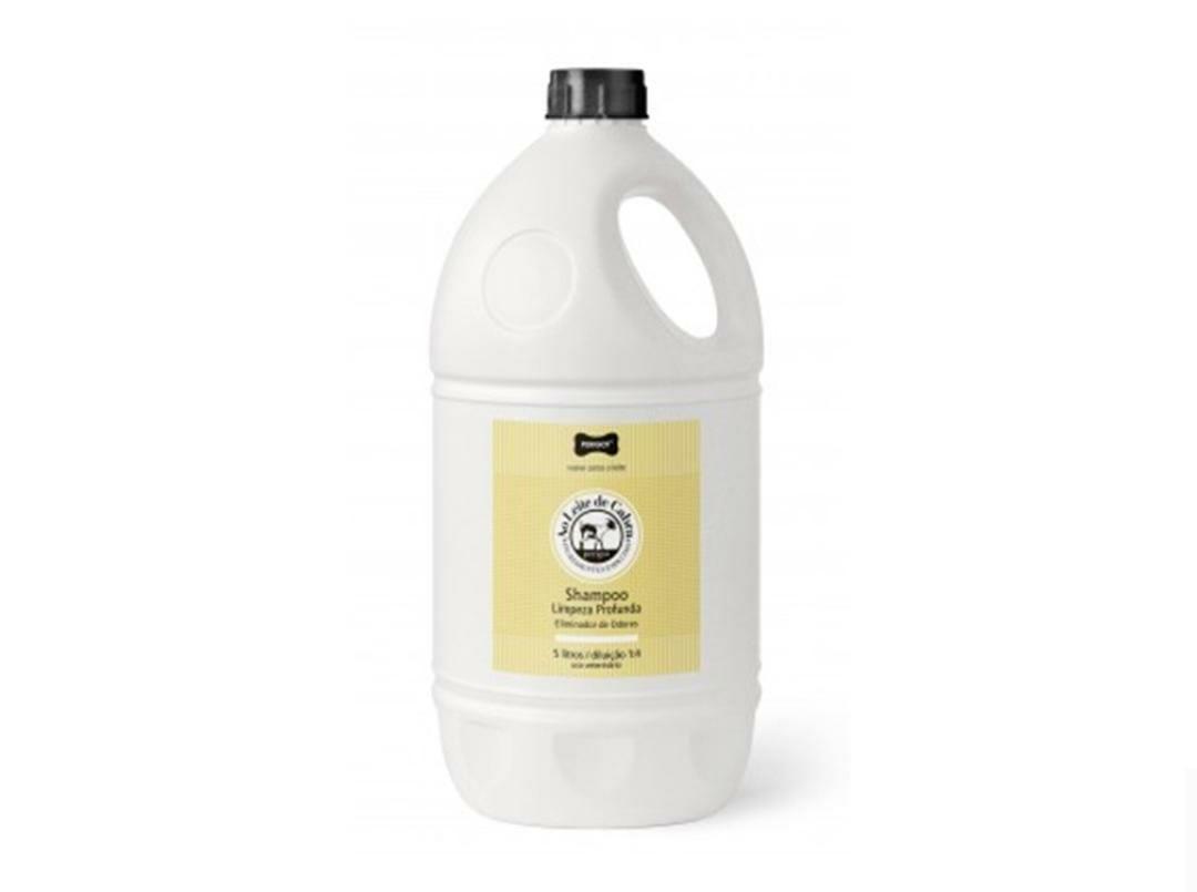 Shampoo Limpeza Profunda  Ao leite de Cabra 5L