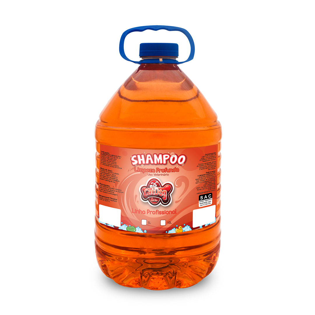 Shampoo Limpeza Profunda 5L