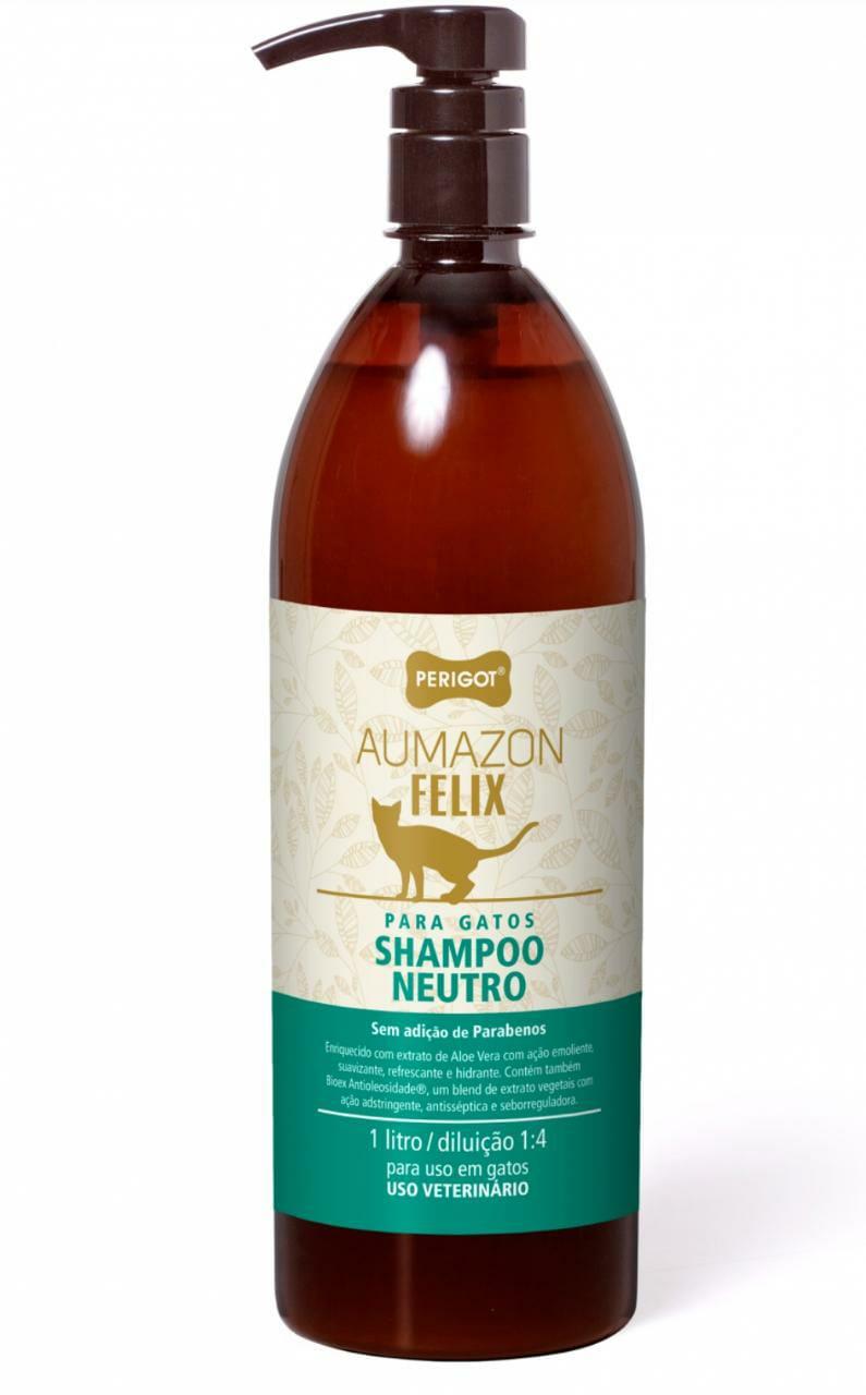 Shampoo Neutro Aumazon Felix  1L