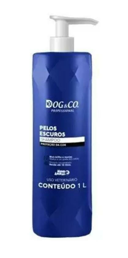 Shampoo Pelos Escuros 1L