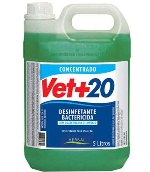 Vet+20 Herbal 5 Litros