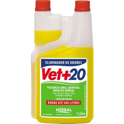 Vet+20 Herbal Eliminador de Odor Concentrado
