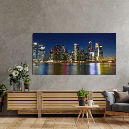 Quadro Decorativo - Cidade - 120x60cm.
