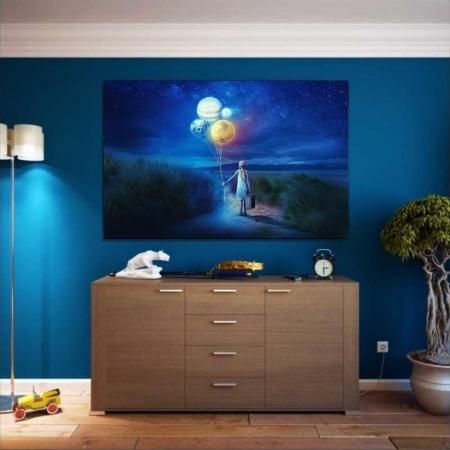 Quadro Decorativo - Fantasia - 110x70cm