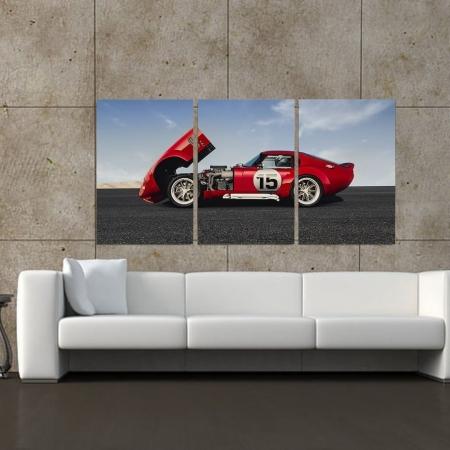 Quadro Decorativo - Ferrari 330 - 120x60cm