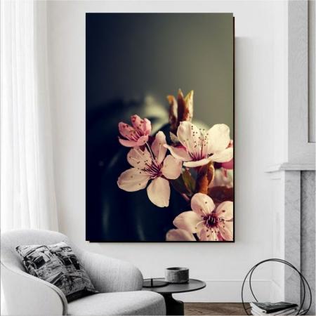 Quadro Decorativo - Flores Delicadas - 100x60cm