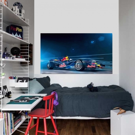 Quadro Decorativo - Formula-1 - 110x60cm