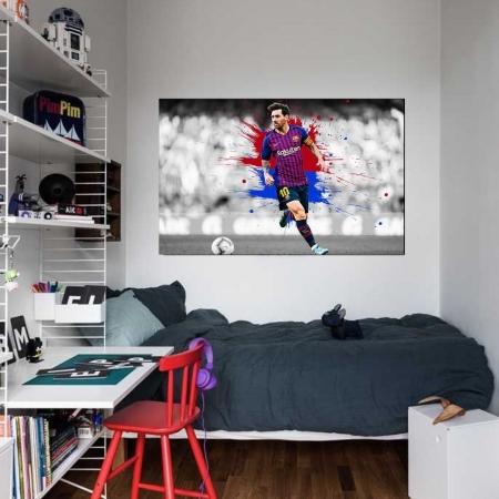 Quadro Decorativo - Messi - 110x70cm