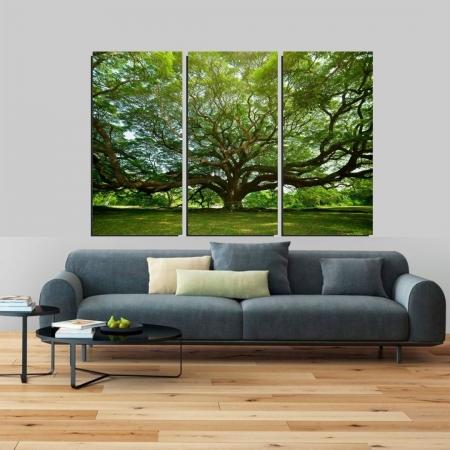 Quadro Decorativo Arvore Grande, 180x120cm.