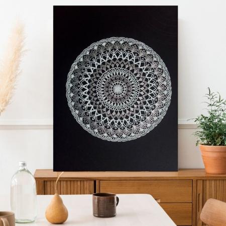 Quadro Decorativo - Mandala - 80x60cm