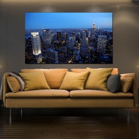 Quadro Decorativo - Nova York - 110x70cm