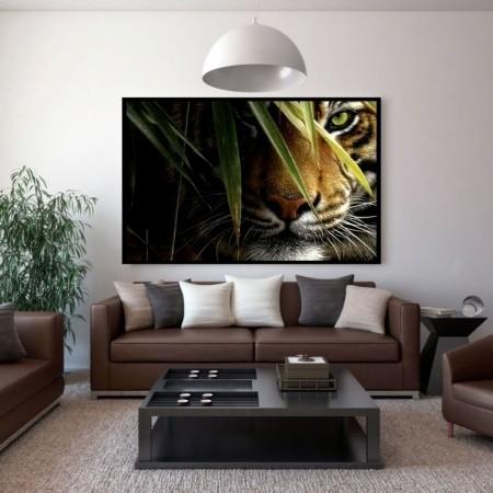 Quadro Decorativo Tigre 110x70cm