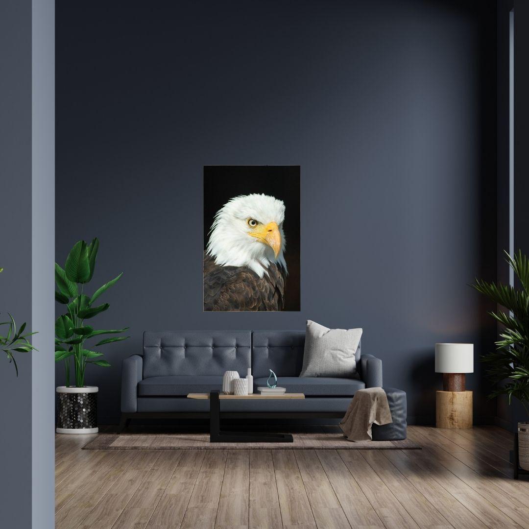 Quadro Decorativo - Águia - 100x60