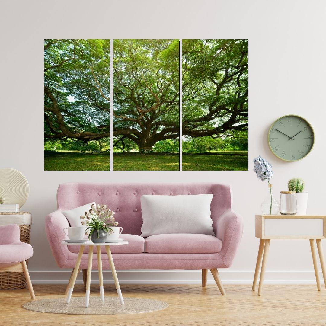 Quadro Decorativo  Para Sala - Arvore Grande - 180x120cm