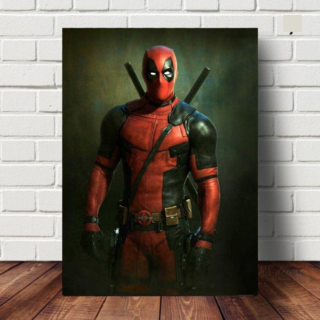 Quadro Decorativo - Deadpool -110x70cm