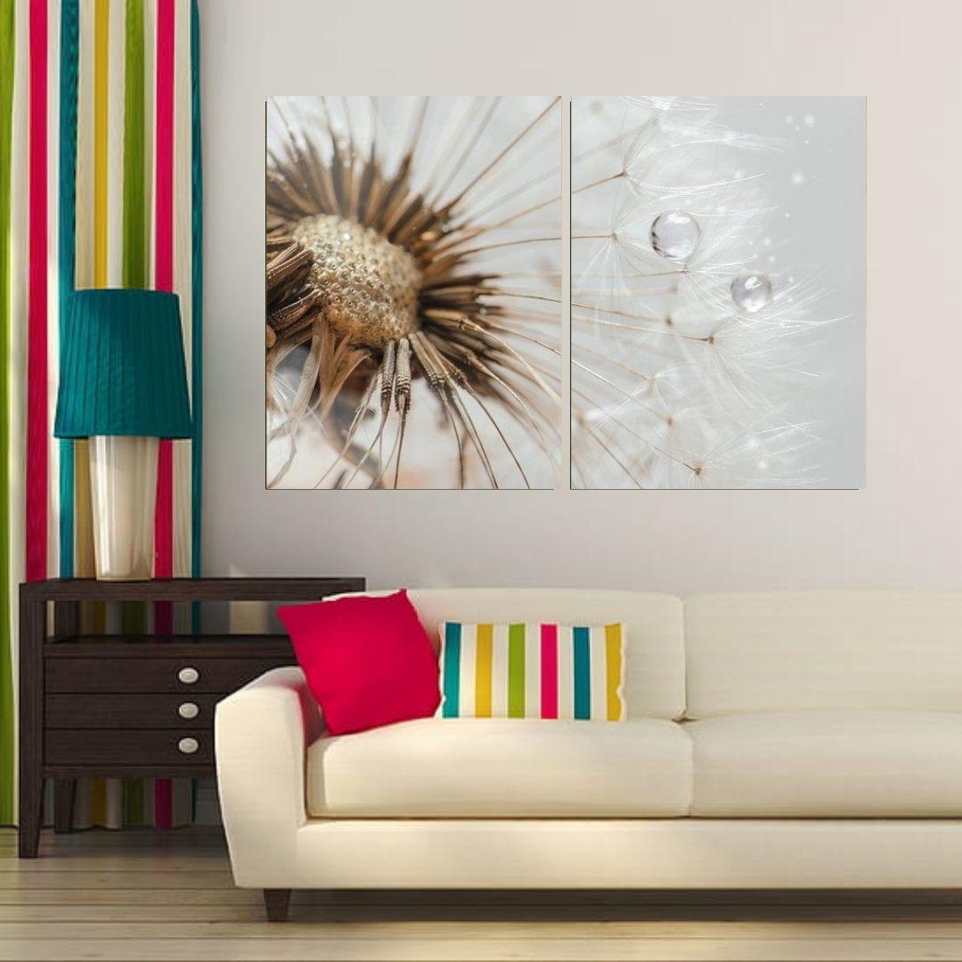 Quadro Decorativo - Dente de Leão Delicado - 120x80cm