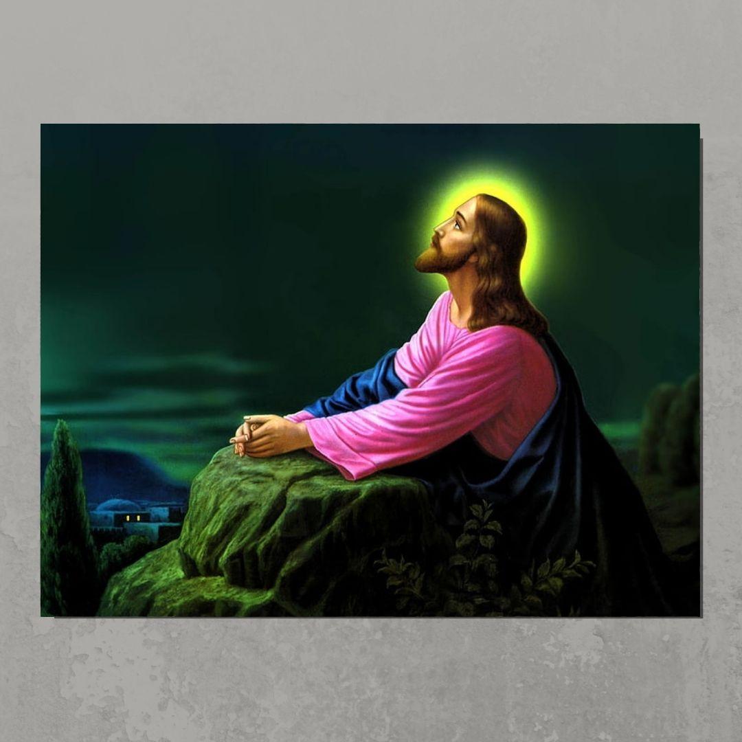 Quadro Decorativo - Jesus Cristo - 80x60cm