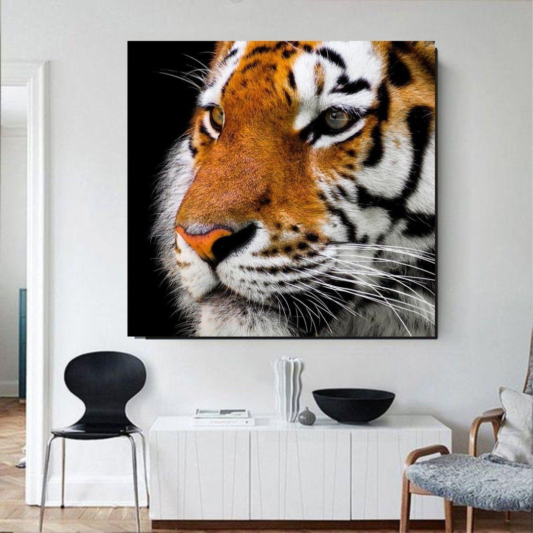 Quadro Decorativo - Tigre - 80x80cm