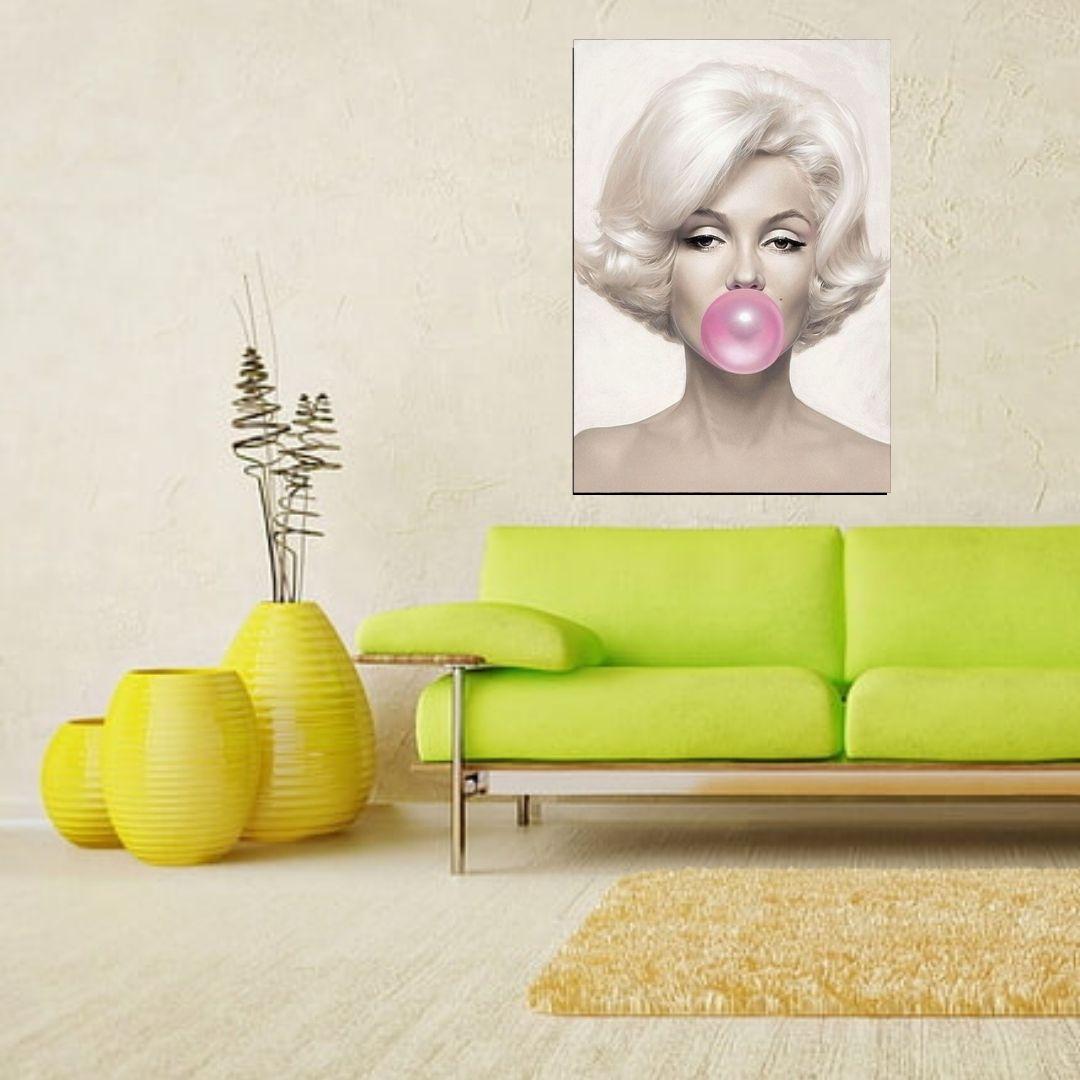 Quadro Decorativo - Marilyn Monroe - 100x70cm