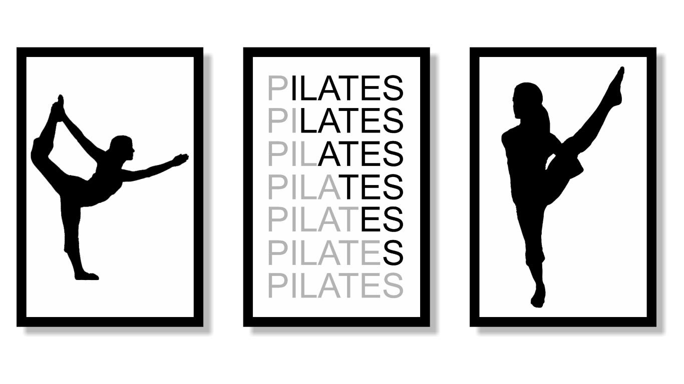 Quadro Decorativo Profissão Pilates