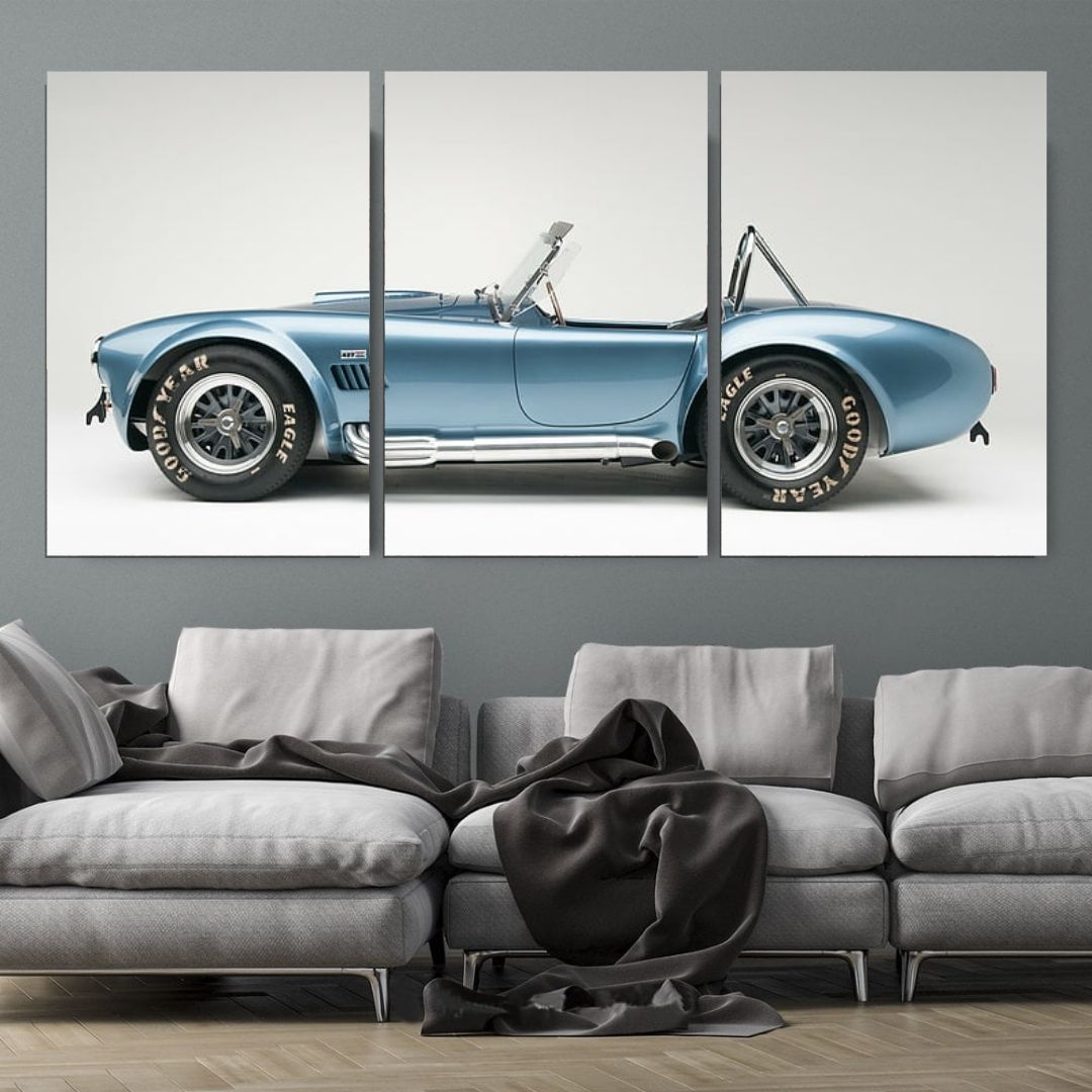 Quadro Decorativo - Shelby Cobra - 120x60cm