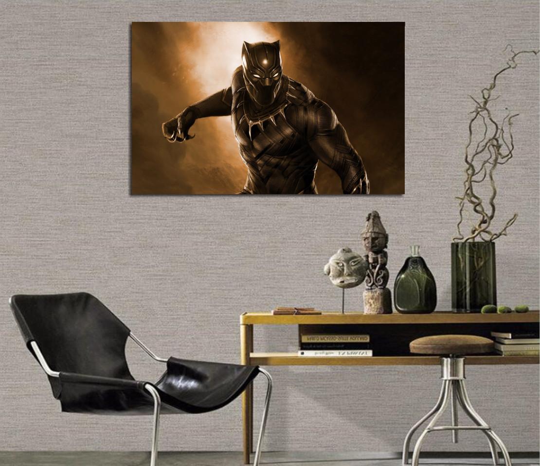 Quadro Pantera Negra / Black Panter 95x60