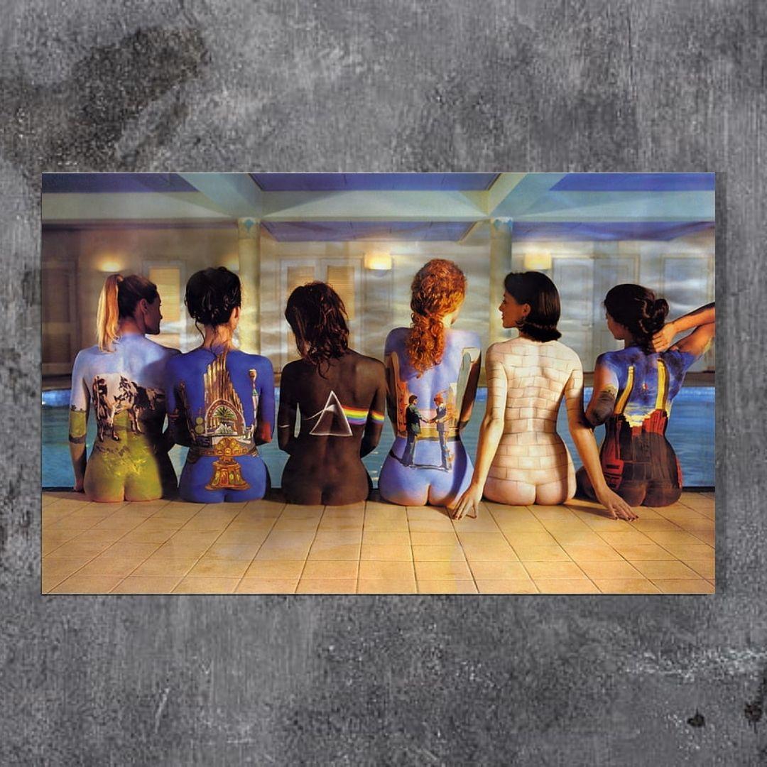 Quadro Para Sala - Pink Floyd - Banda - 110x65cm