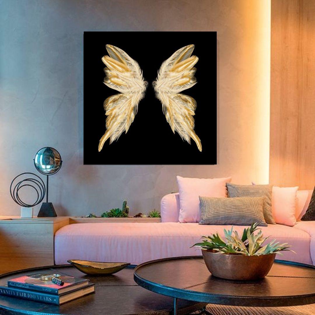 Quadros Decorativo - Asas Esplendidas - 80x80cm