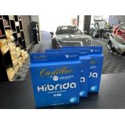 "Boina de lã híbrida azul 6"" Cadillac"