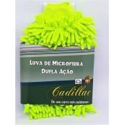 Luva de microfibra dupla ação remoção de insetos - CADILLAC