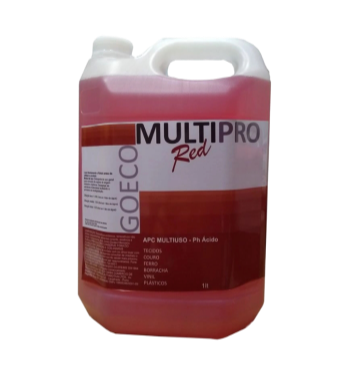 APC MultiPro RED - Limpador Multiuso Ácido 5LT