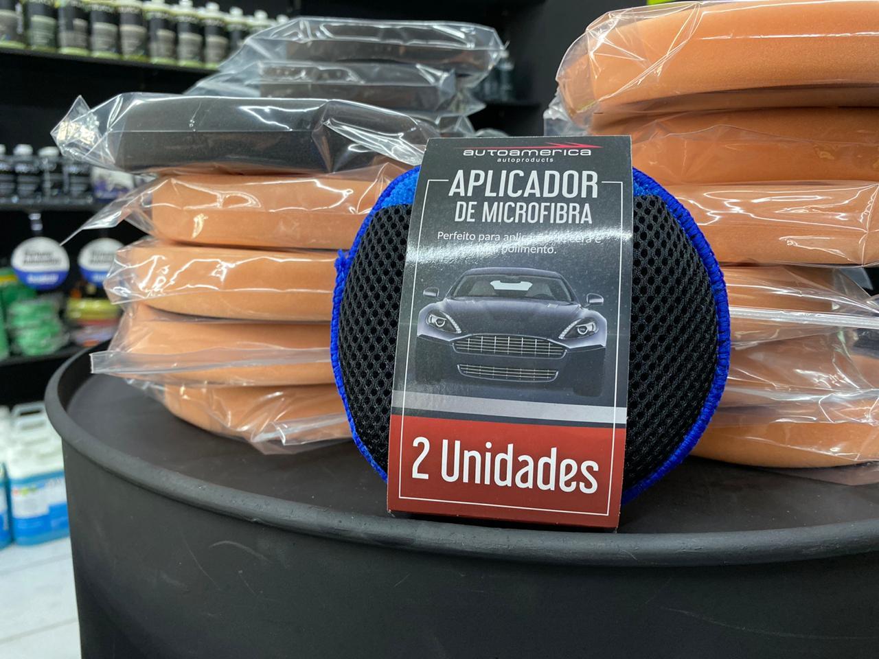 Aplicador de microfibra com 2 unidades - Autoamérica
