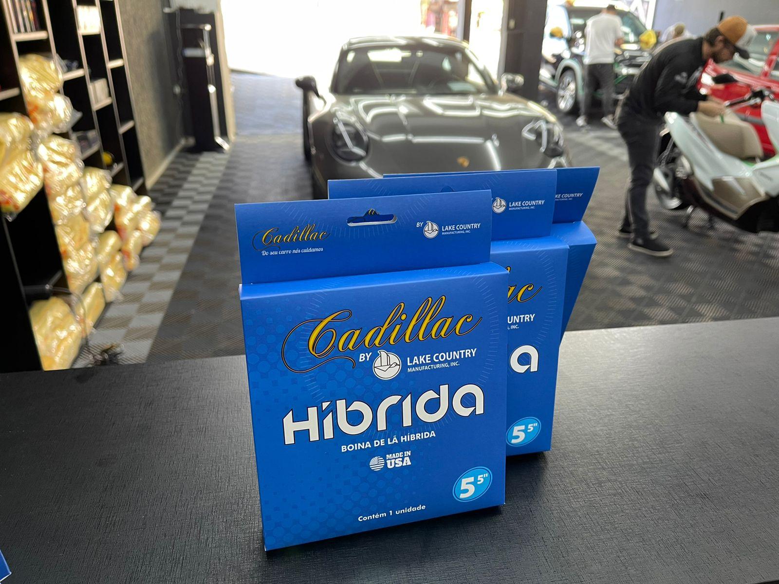 "Boina de lã híbrida azul 5,5"" Cadillac"